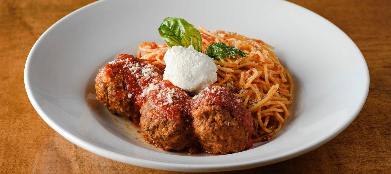 3 - Oak Oven Harahan Meatballs and Spaghetti